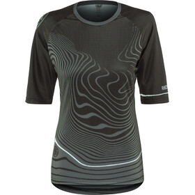 Race Face Khyber 3/4 Sleeve Jersey Dam black